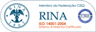 Rina ISO 14001:2004 Certificate