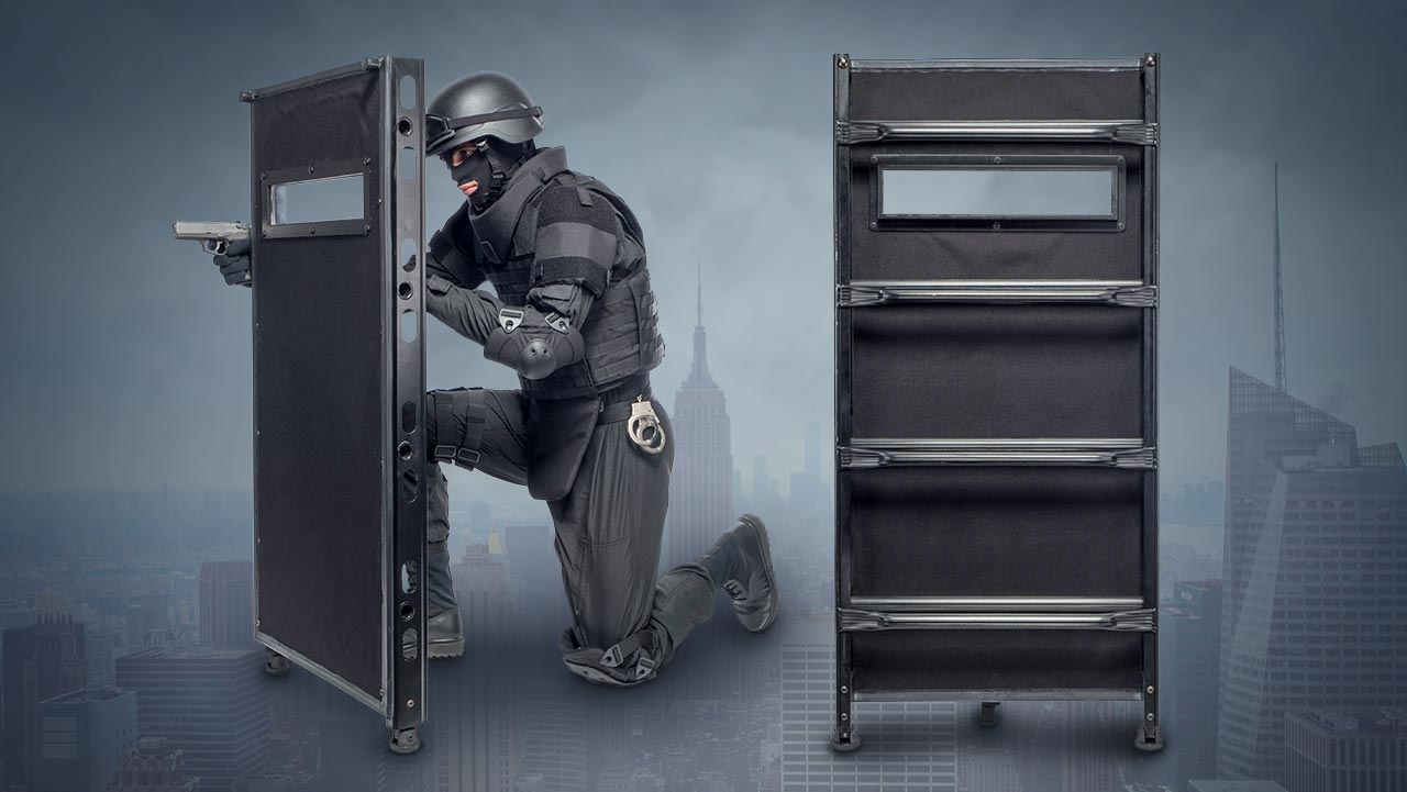 Ballistic Ladder Shield