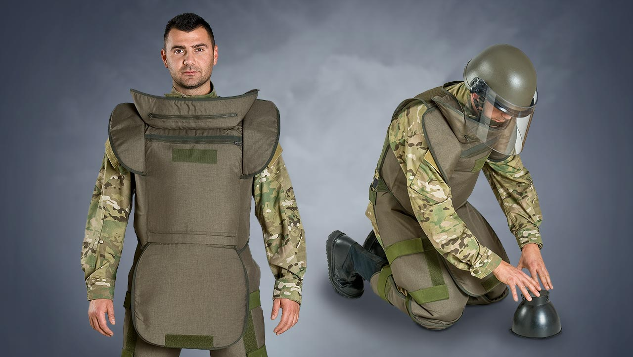 Light Demining Suit - LDS